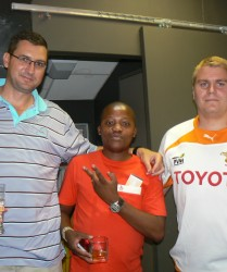 Klipdrift OFM Sky box - Toyota Cheetahs vs Lions
